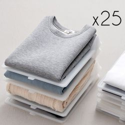 Clothes Organisers | Set of 25