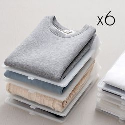 Clothes Organisers | Set of 6