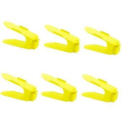 Shoe Rack Yellow | Set of 6