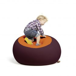 Stanley Beanbag | Aubergine & Orange