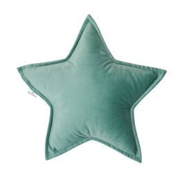 Cushion Little Star Velvet | Mint