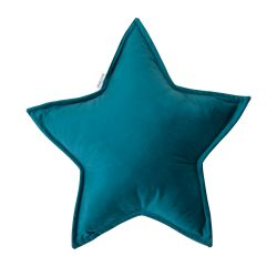 Kissen Little Star Velvet | Smaragd