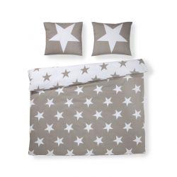 Bettbezug Stars | Beige