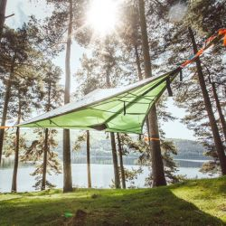 Tarnkappenbaum-Zelt | 3 Personen, 4 Jahreszeiten