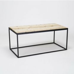 'Steel & Timber' Table de salon
