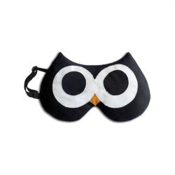 Eye Mask Stella The Owl | Black