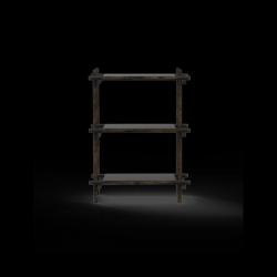 Stangensystem 1x3 Einheit | Schwarz
