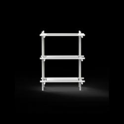 Stangensystem 1x3 Einheit | Weiß