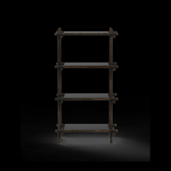 Stick System 1x4 Einheit | Schwarz