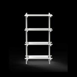 Stangensystem 1x4 Einheit | Weiß