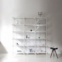 Stick System 3x5 Einheit | Weiß