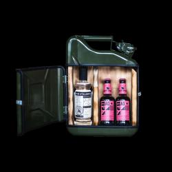Geschenkpaket Jerrycan Bar Stillery 10 L | Grün
