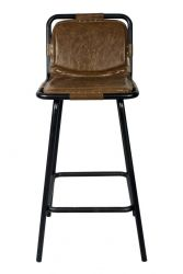 Bar Stool Stringray | Natural Steel