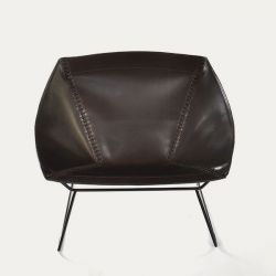 Chair Stitch | Mocca & Black Frame