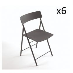 Piper Chair Dunkelgrau | 6er-Satz