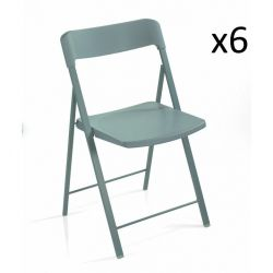 Zeta Chair Blue | Set of 6