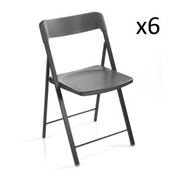 Zeta Chair Dark Grey | Set of 6