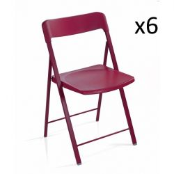 Zeta Chair Red | Set of 6