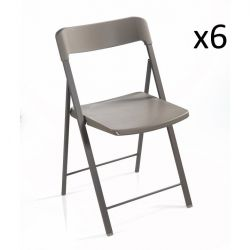 Zeta Chair Grey | Set of 6