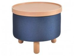 Stool Molde with Removable Tray Large | Blue
