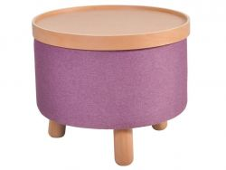 Stool Molde with Removable Tray Large | Purple