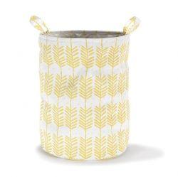 Storage Basket | Feathers Yellow