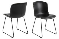 Chair Tale Set of 2 | Black Vintage