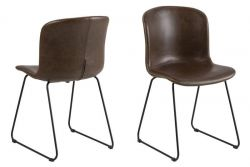 Chair Tale Set of 2 | Brown Vintage
