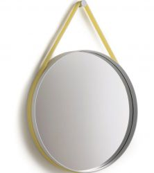 Strap Mirror Yellow