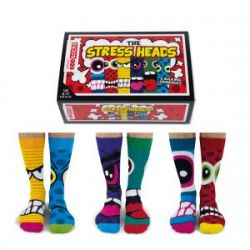 Socken Die Stressköpfe | 6er-Satz