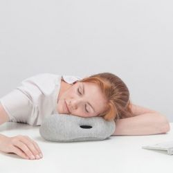 Ostrich Pillow Mini | Grau