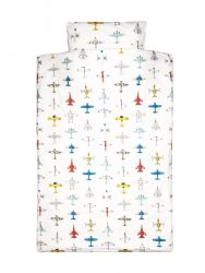 Single Bed Duvet Cover | Airplanes