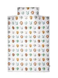 Bettdeckenbezug 100 x 35 cm | Wildtiere cool
