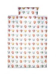 Bettdeckenbezug 120 x 150 cm | Wildtiere süß