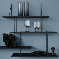 Shelving System LINK Set 2 | True Black