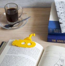 Lesezeichen Submarker | Gelb