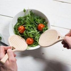 Salatbesteck Tennissatz 2er-Set