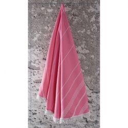 Round Towel Sultan | Pink