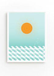 Sun and Seascape Print