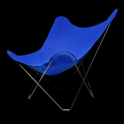 Outdoor Butterfly Chair Sunbrella | Atlantic Blue