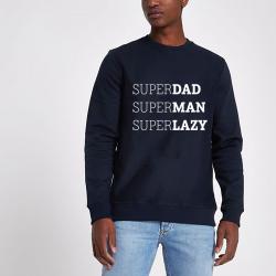 Pullover ♂ Superdad | Blau