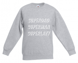 Sweater Superdad | Grey