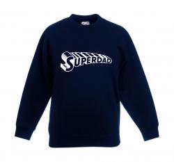 Pullover ♂ Superdad Supertext | Marine