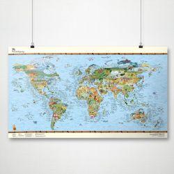 Wiederbeschreibbare Weltkarte | Surftrip