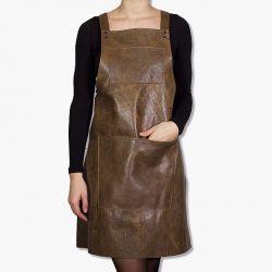 Schürze Suspender | Vintage Braun