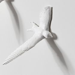 Spare Bird for Clock Swallow | White