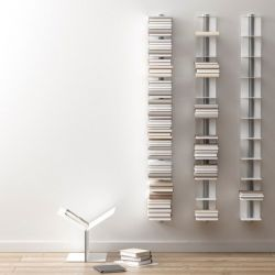 Usio Magazine Rack Wall White