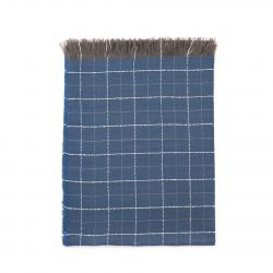 Schal Classic Checkerboard | Blau