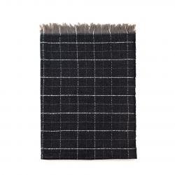 Scarf Classic Checkerboard | Graphite
