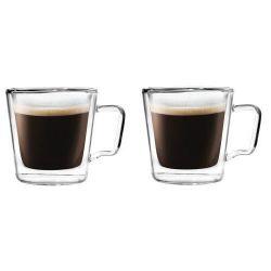2er-Set Tassen Doppelwandglas 250 ml | Diva